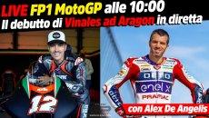 MotoGP: LIVE - Alex De Angelis commenta la FP1 MotoGP di Aragon in diretta