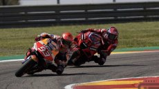 """MotoGP: Marquez: """"I tried to see where Bagnaia's weak points were, but he didn't have any"""""""