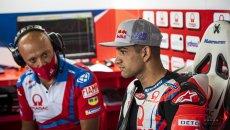 """MotoGP: Martìn: """"Bagnaia a Misano è stato impressionante con la Panigale V4"""""""