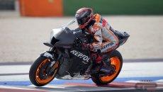"""MotoGP: Márquez: """"la nuova Honda 2022 è buona nel concetto, ma bisogna lavorare"""""""""""