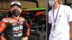 """MotoGP: 'Gimbo' Tamberi: """"I'm a motorcyclist, but I haven't ridden for years"""""""