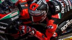 """MotoGP: Vinales: """"Aprilia più difficile di Yamaha, ma con grandissimo potenziale"""""""
