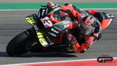 MotoGP: L'ANALISI Maverick Vinales-Aprilia al debutto ad Aragon: buona la prima