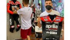 MotoGP: Maverick Vinales warms up for Aragon: Aprilia suit ready