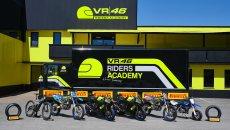 News: VR46 Riders Academy sceglie Pirelli per gli allenamenti Moto e E-MTB