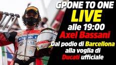 SBK: LIVE alle 19 - Axel Bassani: dal podio di Barcellona, alla voglia di Factory