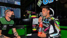 """SBK: Michel Fabrizio: """"Dangerous for young guys to race in the world championship without preparation"""""""