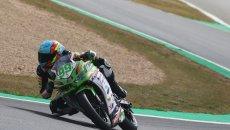 SBK: Magny-Cours, Huertas vince gara-1 in SSP 300. Booth-Amos 2°