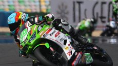 SBK: SSP300, Huertas fa il bis a Magny-Cours. Booth-Amos ancora 2°