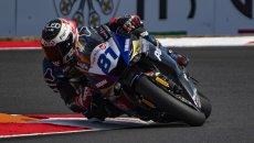 SBK: SSP600, a Magny-Cours vince Gonzalez. Paura per Bernardi e Cluzel