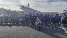 SBK: Un minuto di silenzio a Jerez in onore e ricordo di Dean Berta Vinales