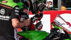 SBK: Corsa Mondiale: ecco perché Rea e la Kawasaki non riavranno i 500 giri