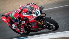 SBK: Rinaldi e la Ducati piegano Rea e la Kawasaki nel warmup, 7° Toprak