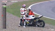SBK: Clamoroso a Barcellona: ecco la rottura della Yamaha di Toprak