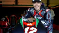 """SBK: Angel Vinales: """"Without Aprilia Maverick would have done a race in SBK"""""""