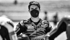 SBK: Drama in Jerez for 15-year-old Dean Berta Viñales: succumbed to his injuries
