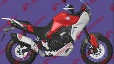 Moto - News: Benelli brevetta una adventure da 650 cc: sfida a XCape e Tuareg 660?