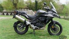 Moto - News: Benelli TRK 502, arriva il richiamo. Problema alle sospensioni