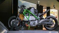 Moto - News: Kawasaki: moto elettriche, ibride e a idrogeno nel futuro di Akashi