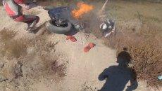 Moto - News: Max Wrist e la Yamaha R1 in fiamme: ecco il video dell'incidente