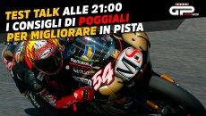 Moto - News: LIVE Test Talk alle 19:00 – Poggiali spiega i segreti per migliorare in pista