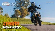 Moto - Test: Video Prova CFMOTO 700CL-X Heritage: nessun compromesso