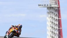 Moto2: Austin, FP3: Fernandez batte ancora Gardner, 3° Di Giannantonio
