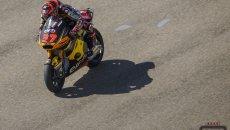 Moto2: Misano: Augusto Fernandez si conferma il più veloce in pista, 5° Vietti