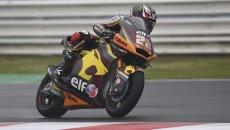 Moto2: Misano: Lowes in pole nel festival delle cadute, indietro Gardner e Fernandez