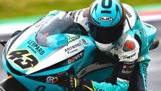 Moto3: Artigas si impone sul bagnato nella FP3, 6° Foggia