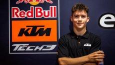 Moto3: Tech3 punta su Daniel Holgado per le tappe di Misano e Portimao