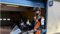 Moto3: Jurgen Van Den Goorbergh, a 52 anni in sella alla BeOn a Vallelunga