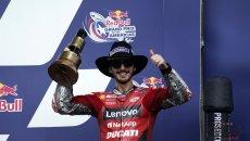 """MotoGP: Bagnaia: """"So dove ho perso il titolo e non è stato ad Austin"""""""