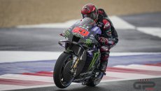 MotoGP: Quartararo reckons it will be difficult to beat the Ducatis with the Yamaha in the wet