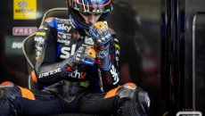"""MotoGP: Marini: """"In gara ho provato ad andare veloce come Enea, non ci sono riuscito"""""""