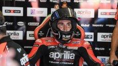 """MotoGP: A.Espargarò: """"Fosse per me, non si dovrebbe correre ad Austin, è pericolosa"""""""