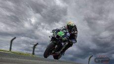 """MotoGP: Morbidelli: """"Ho guidato solo con le braccia, è stata durissima"""""""