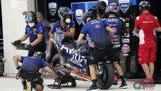 MotoGP: Tampone falsificato: sospeso un meccanico del team Avintia