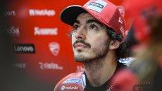 """MotoGP: Bagnaia: """"Frustrato ma felice, il mondiale è sempre stato di Quartararo"""""""