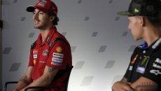"""MotoGP: Bagnaia: """"Yamaha e Ducati forti a Austin, ma Marquez ancora di più"""""""