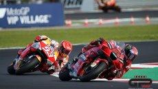 MotoGP: L'ANALISI Misano 2 vs Misano 1, i duelli spiegati: cosa è cambiato in un mese