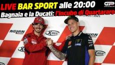 MotoGP: LIVE Bar Sport alle 20:00 - Bagnaia e la Ducati: l'incubo di Quartararo