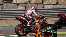 MotoGP: Marquez: come curvare con il posteriore senza surriscaldare la pinza