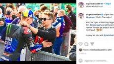 """MotoGP: Lorenzo a Quartararo: """"Non potrai mai fare niente di più grande Fabio"""""""
