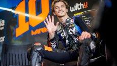 """MotoGP: Luca Marini: """"sto maturando, mi ha aiutato sfidare Pecco con la Panigale"""""""