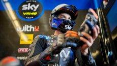 """MotoGP: Marini: """"Sul bagnato sono stato veloce senza essere al limite"""""""
