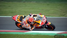 MotoGP: Misano show: Marquez vince, Bagnaia cade, Quartararo è campione!