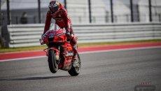 MotoGP: Miller fa il vuoto ad Austin in FP3: Nakagami 2°, Bagnaia in Q2 per un soffio