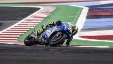 """MotoGP: Mir: """"Ho sbagliato col launch control e mi scuso con la squadra e Petrucci"""""""