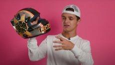 """MotoGP: Lando Norris si confessa: """"per il mio primo casco ho copiato Valentino"""""""